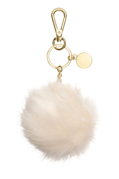 Keyring - Natural white -  | H&M 1